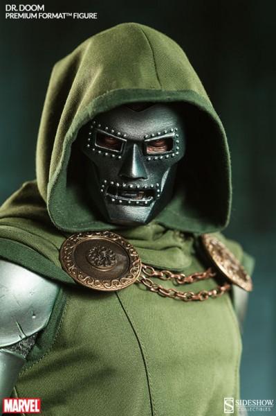 Dr Doom traje tela Sideshow