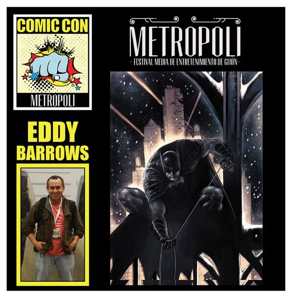 Eddy Barrows en Metrópoli