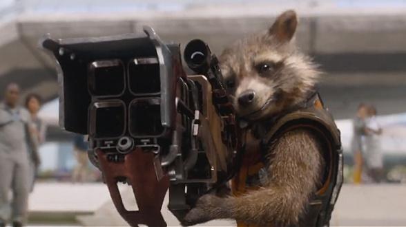 Guardianes de la Galaxia - Rocket Racoon- Avengers: Infinity War