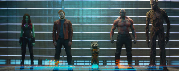 Guardianes de la Galaxia - sospechosos habituales