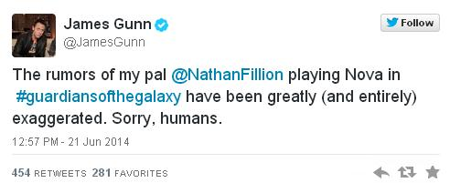 James Gunn Twitter