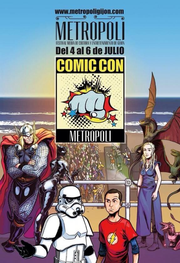 Metrópoli Comic Con Cartel