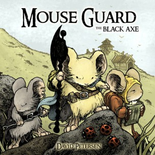 Mouse Guard Hacha Negra 3