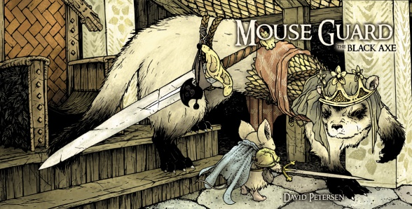 Mouse Guard Hacha Negra