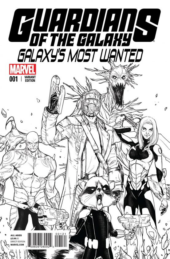 Preview de 'Guardians of the Galaxy: Galaxy's Most Wanted' #1