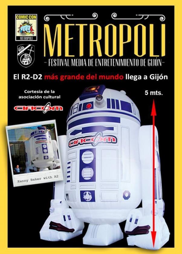 R2D2 Metrópoli