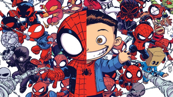 Skottie Young dibuja el Spiderverso