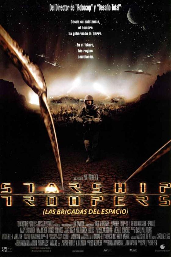 Starship Troopers - poster español