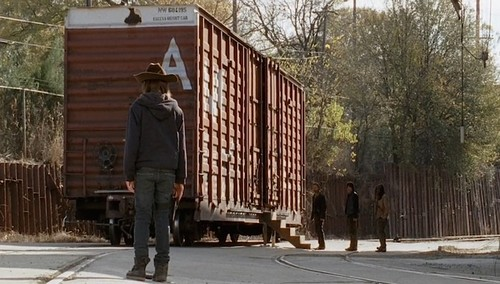 The Walking Dead - wagon