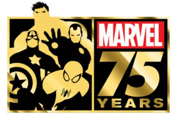 comics marvel 75th anniversary logo