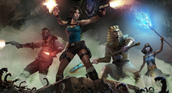 Lara Croft and the Temple os Osiris