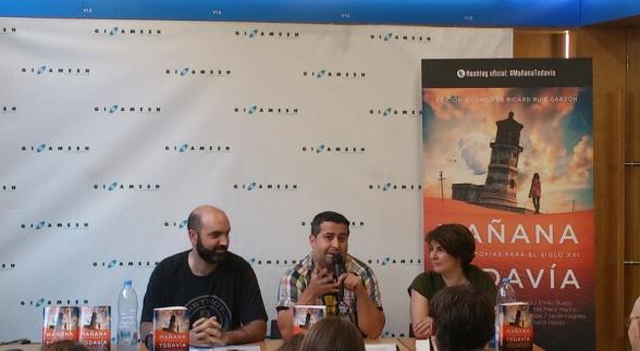 Marc Pastor, Ricard Ruiz Garzón y Susana Vallejo