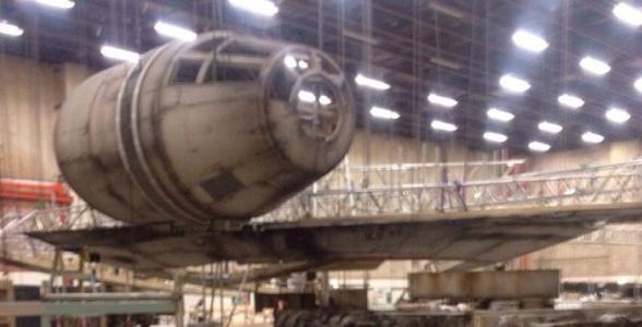 Almacén Star Wars VII: Halcón Milenario