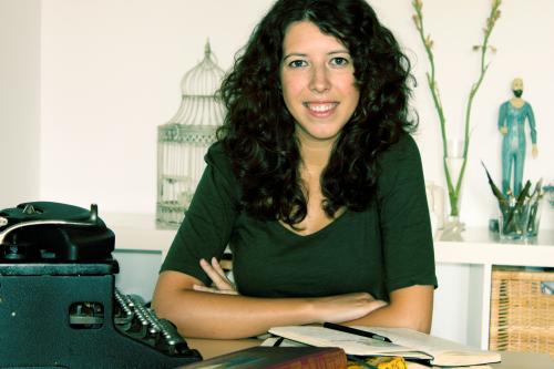 La autora Patricia García-Rojo (fotografía de Erny Gámez)