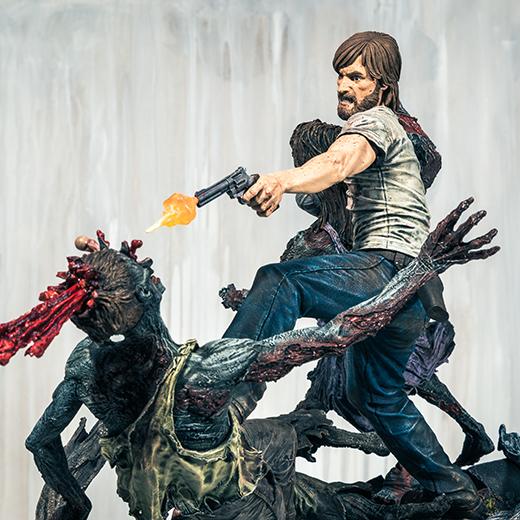 Nueva estatua limitada centrada en el cómic 'Walking Dead'