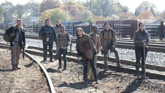 The Walking Dead - railroad
