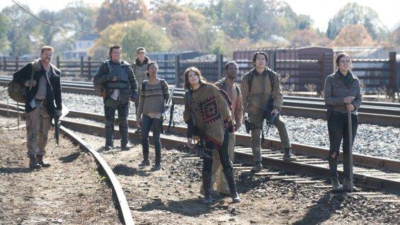 The Walking Dead - railroad