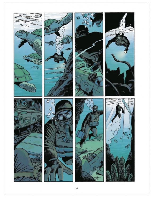 1 WW2 2 La otra guerra mundial 5 odisea siciliana una diabolo ediciones comic critica opinion reseña blengino del vecchio