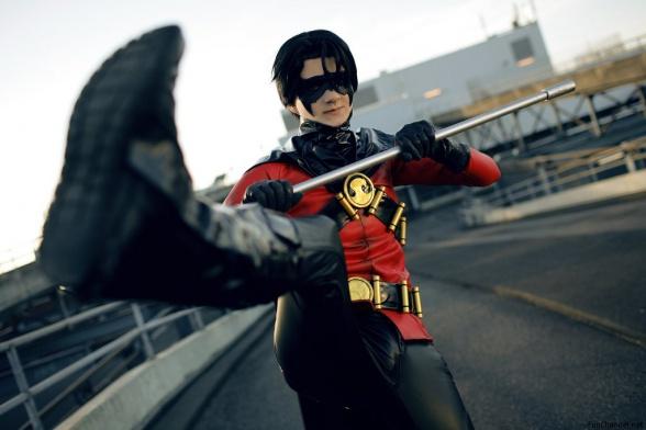 Cosplay Robin rojo