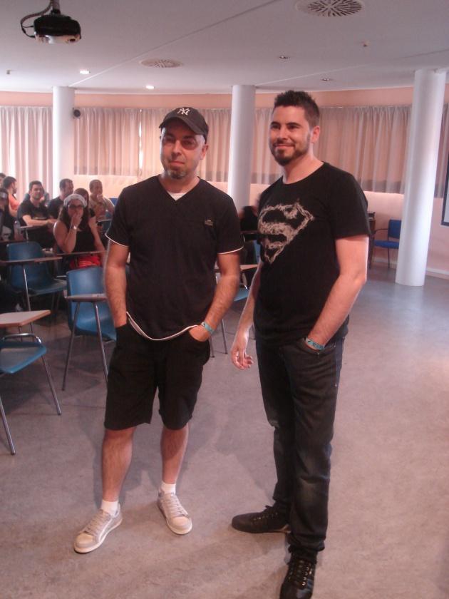 Metrópoli Comic Con Masterclass Rafa Sandoval Jordi Tarragona