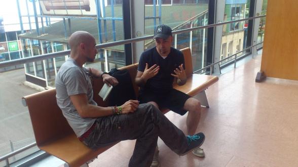 Entrevista a Rafa Sandoval Metrópoli Comic Con 2014