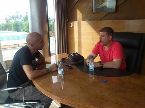 La Casa de EL entrevista a Salvador Larroca