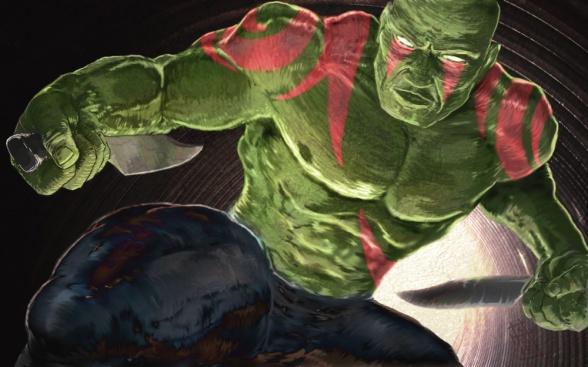 Drax The Destroyer Vs Venom: El Chico De La Semana: Drax, El Destructor