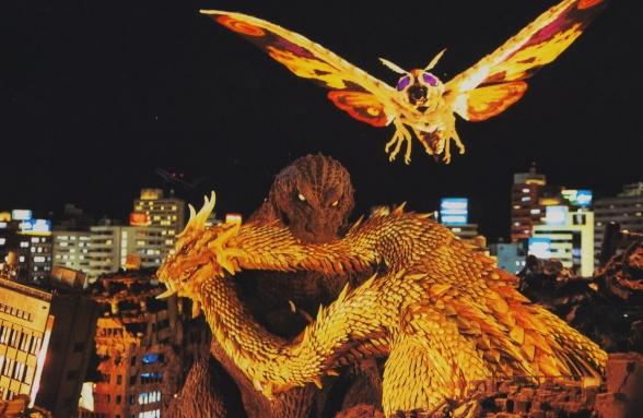 Godzilla 2 Mothra Ghidorah