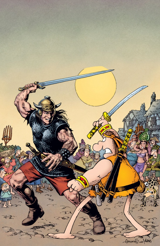 Groo vs Conan 1