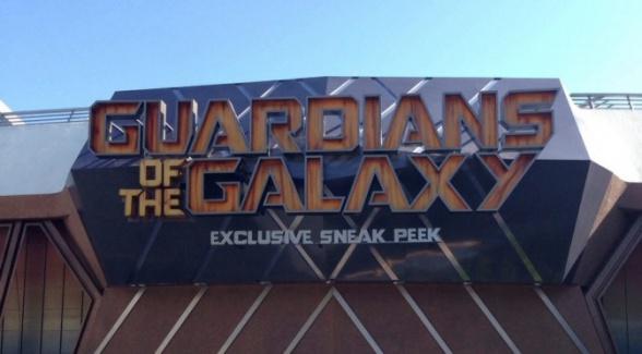 Guardianes de la Galaxia - sneak peek