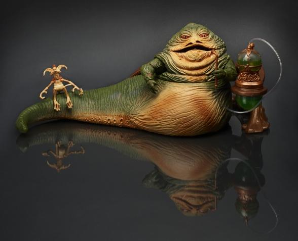 Jabba el Hutt Hasbro comic con 2014
