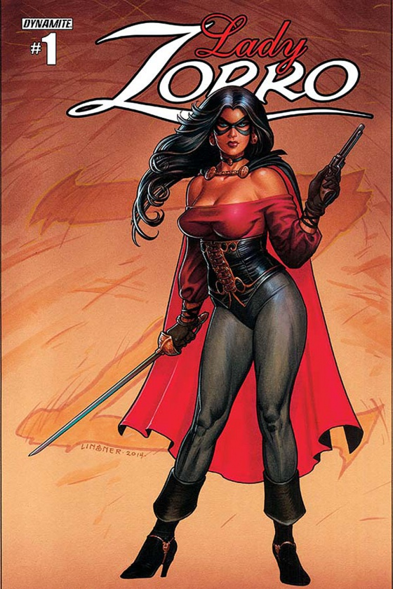 Preview de 'Lady Zorro #1'
