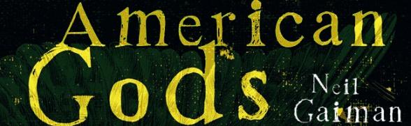 Logo American Gods Neil Gaiman Starz