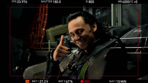 Loki filming Avengers