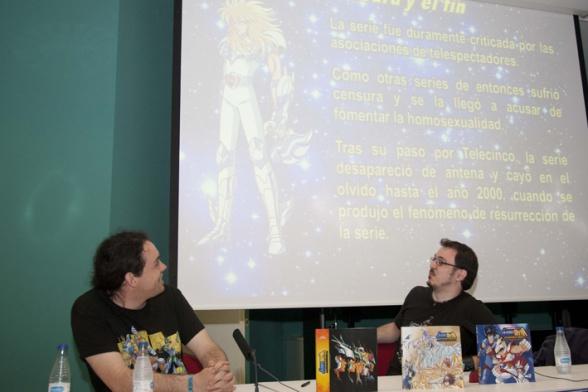 Metrópoli Comic Con Caballeros del Zodiaco