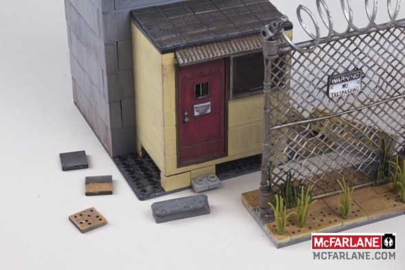 McFarlane Toys nos permitirá recrear los escenarios de 'The Walking Dead'