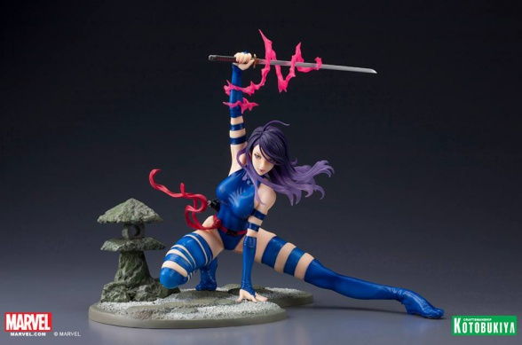 Classic X-Men Era Psylocke SDCC Exclusive Bishoujo Statue