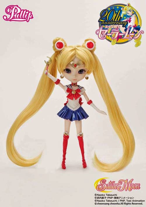 Pullip Sailor Moon Doll 20th Anniversary comic con exclusive