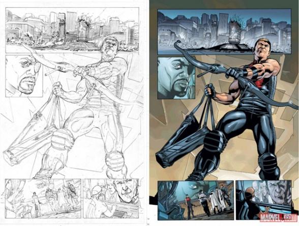 Rafa Sandoval Hawkeye Metrópoli Comic Con