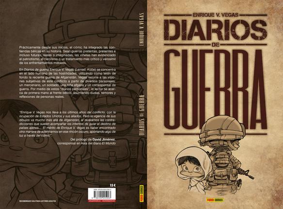 'Diarios de guerra', de Enrique V. Vegas