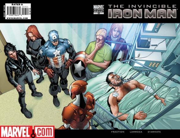 Salvador Larroca Iron Man