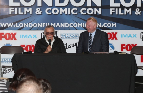 Stan Lee at London Film and Comic Con
