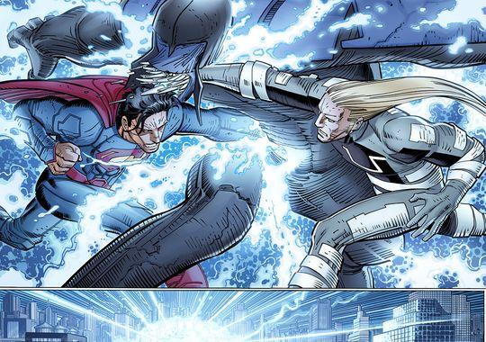 Superman vs Ulysses Romita