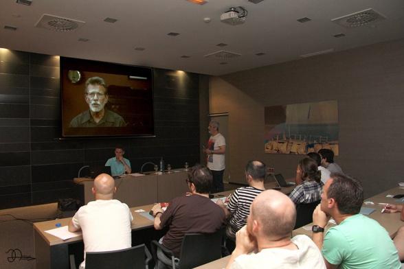 Imagen del taller del día anterior (imagen a través de la organización)