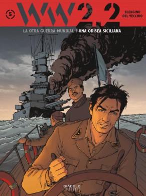 WW2-2-La-otra-guerra-mundial-5-odisea-siciliana-una-diabolo-ediciones-comic-critica-opinion-reseña-blengino-del-vecchio