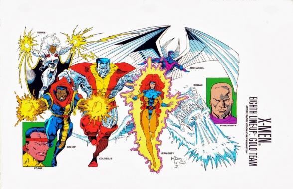 X-Men Barry Kitson