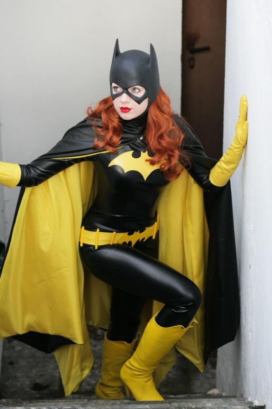 cosplay batgirl