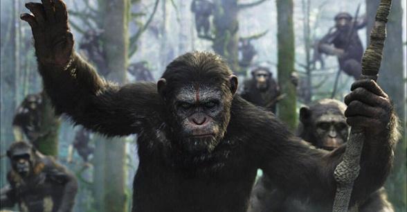 el amanecer del planeta de los simios amenaza
