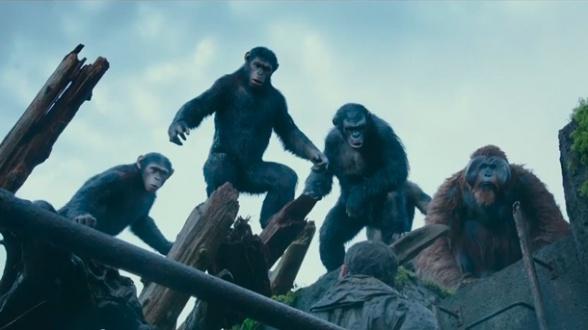 el amanecer del planeta de los simios grupo monos