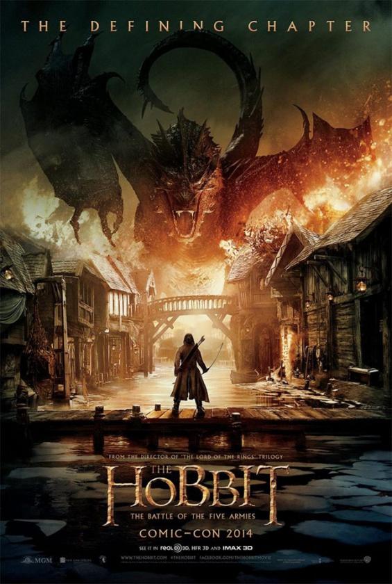 el-hobbit-batalla-de-los-cinco-ejercitos-poster